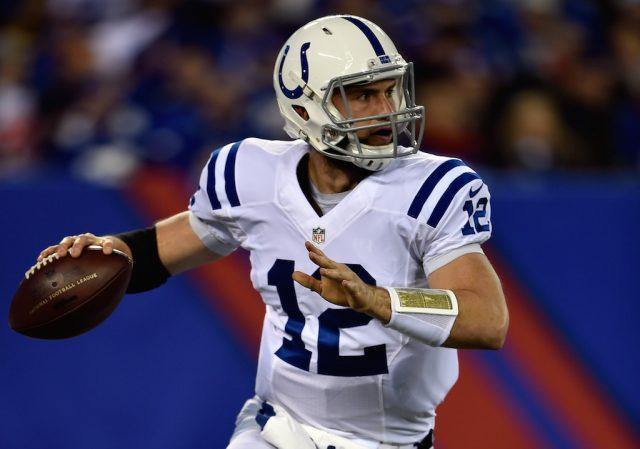 Andrew Luck Al Bello Getty Images