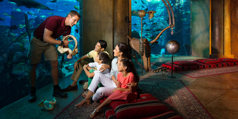 Lost Chambers Aquarium at Atlantis The Palm 3