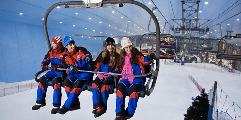 Ski Dubai Polar Pass 1