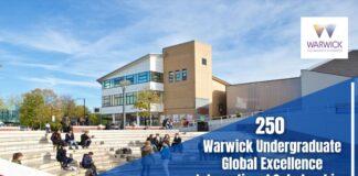 250 Warwick Undergraduate Global Excellence