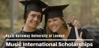 Music international awards at Royal Holloway University