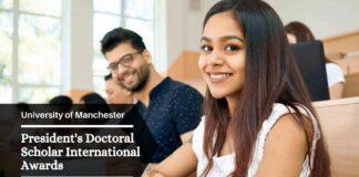 President's Doctoral Scholar International Awards