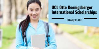 UCL Otto Koenigsberger International