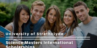 University of Strathclyde Science Masters International