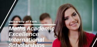University of York Maths Academic Excellence