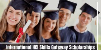 International HCI Skills Gateway Scholarships