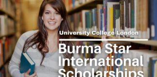 UCL Burma Star International Awards