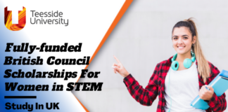 Fully-Funded British Council Scholarships for Women in STEM