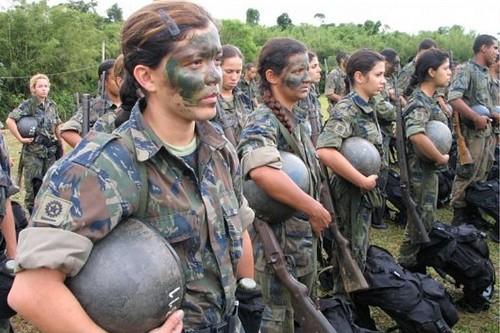 Female Brazilian Army