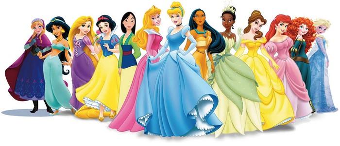most popular Disney Princesses