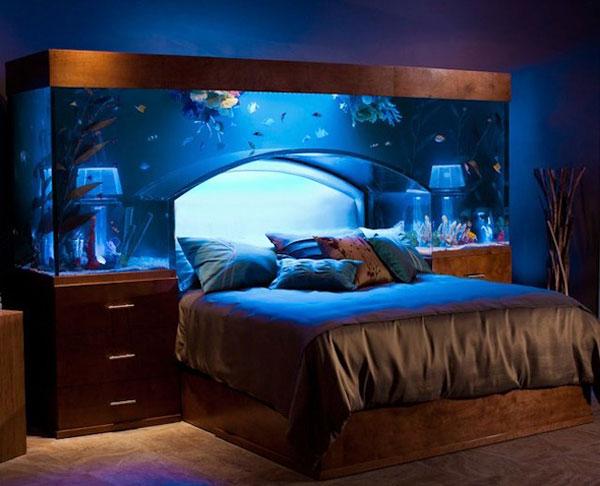 Fish Tank Headboard