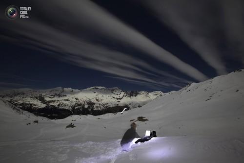 Switzerlands photographer Denis Balibouse files his pictures